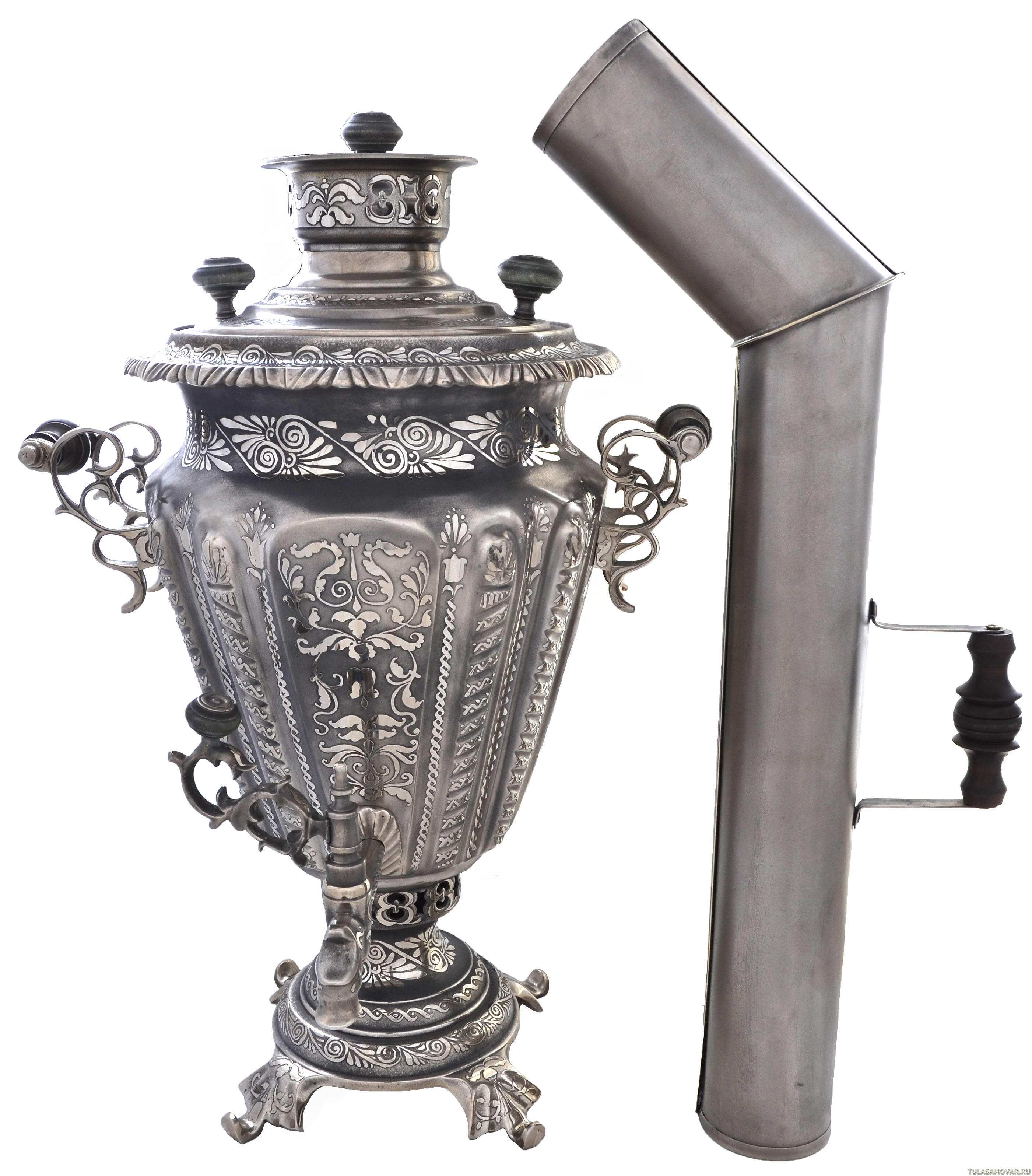 старинный самовар картинка с трубой